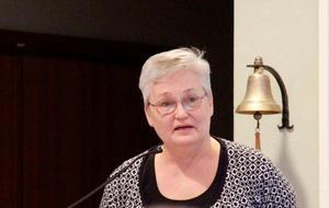 Irene Andersson är författare till medborgarförslaget som skapade lång debatt under mötet i kommunfullmäktige.