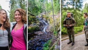 """BILDSPECIAL: Vattenfall och äventyr lockar örebroarna till Bergslagsleden: """"Vi skulle rymma från stan"""""""