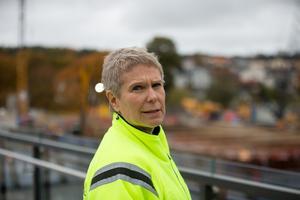 Ulrika Hamberg medger att det är tufft att vara projektledare för Mälarprojektet.