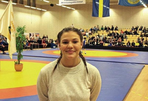 Daniela Lundström tog SM-guld.