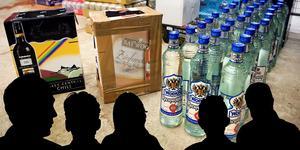 I den omfattande stämningsansökan kring alkoholsmuggling har hela 22 personer åtalats. Fem av dessa ses som de centrala i utredningen.