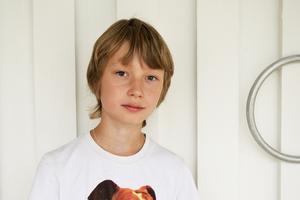 Eric, 10, mellanstadieelev, Nacksta