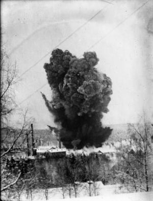 Man använde elektricitet för att utlösa den stora skrällen 1927