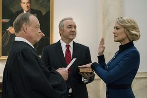 House of cards, en favorit bland många alliansväljare.