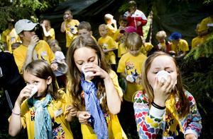 Häxans brygd var rätt god och gjorde barnen osynliga.