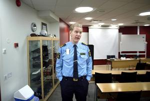 Josef Wiklund, lokalområdeschef vid polisen i Medelpad.