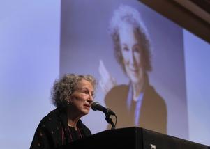 Margaret Atwood är en av de författare som stödjer Internationella Pens nya kampanj. Arkivbild.