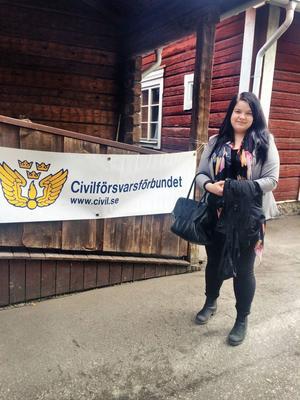 Maria Leander, ordförande för Civilförsvarsförbundet Gävleborg.