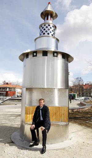 Det här var det enda Östersund kunde erbjuda i rymdraketsväg.