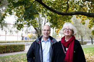 Att odla sina egna grönsaker i staden är en hållbarhetsfråga, anser Inger Berglund och Peter Garvö. Nu startar de ett projekt för att främja statsodlingar i Faluns parker och närområden.