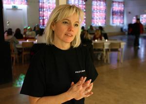 Söderhamns drogsamordnare Anne Lindberg.