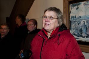 Gun Danielsson köpte Mando Diao-plattan till sin 92-åriga svärmor Kerstin Danielsson i Smedjebacken.