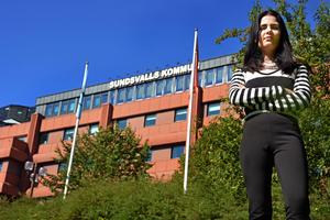 Elin Nilsson (M), oppositionsledare i barn- och utbildningsnämnden i Sundsvall.
