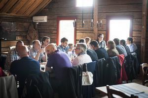 Galan hölls på Järvzoo, och inleddes med en lunch innan prisutdelningen tog plats.