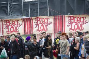 Peace & Love ändrar uppgifterna om årets besökarantal. Foto: Fredrik Sandberg