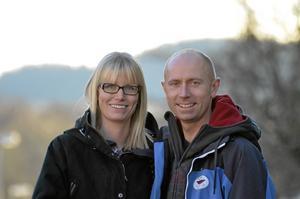 Prisade glasstillverkare. Årets företagare blev Lena och Anders Kadesjö, som tog över Noraglass för tre år sedan.