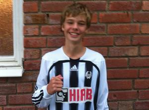Daniel Eliasson säkrade Strands serieseger i pojkallsvenskan.