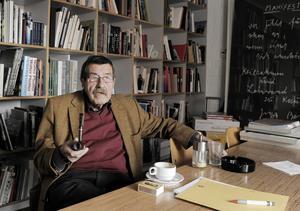 Günther Grass på en bild från 2009. Den 13 april avled han.