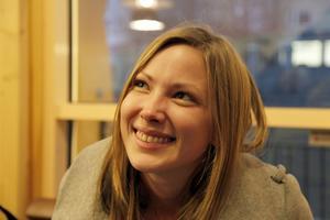 Jill Rödin, Sollefteå– Ja, det är jättetråkigt. Utan snö blir det så mörkt och ingen julstämning.