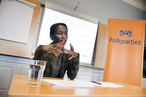 Jämställdhetsminister Nyamko Sabuni, FP, har presenterat den diskrimineringslag som behöver bättras på...
