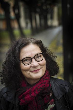 Ebba Witt-Brattström.    Foto: Yvonne Åsell / SvD / TT