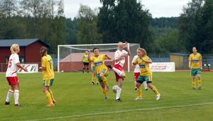 Det blev en jämn match mellan serieledande Hög och trean Ljusdal i damtrean i går kväll. Matchen slutade oavgjort, 1-1, men den stora vinnaren var Hög.