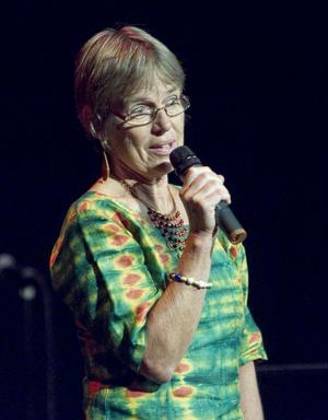 Margareta Sidenvall berättade om svältkatastrofen på Afrikas horn.