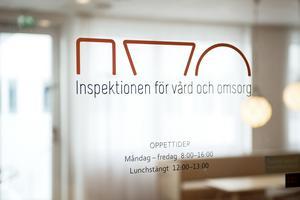 En patient inom psykiatrin i Falun har anmält att hon svalt ett rakblad och en magnet, enligt ett klagomål till Inspektionen för vård och omsorg.