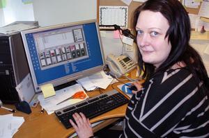 Christine Skeppar i Färila jobbar hårt för att efter sjukdom komma tillbaka till arbetslivet igen.
