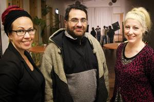 Katarina Hansson, Naim Kassis och Ma-Lou Skoglund.
