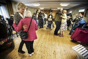 Det var fullt drag på dansgolvet när Jamtli hade öppet hus med temat