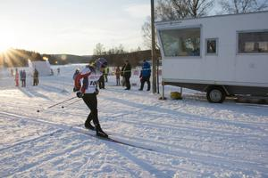 Jessica Eriksson, Stockviks SF, tog hem förstaplatsen i damernas fyramil.