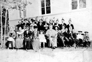 Från invigningsdagen den  27 juni 1909.