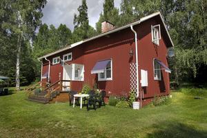 Den före detta arrendegården Erknilsas i Redsjö. Huset är från 1920-talet.