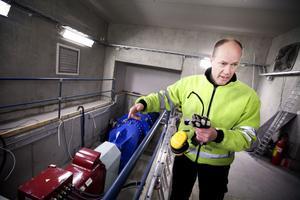 – Den el vi producerar i Elpatrons kraftverk säljs till Göteborgs energi, säger Lars Johansson, driftansvarig.
