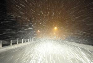 SMHI varnar för hårda fjällvindar med snö och plusgrader i länets fjällvärld under juldagen.