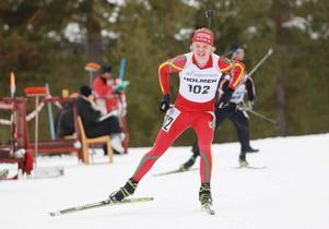 Markus Stenberg, Svens IK, knep guldet i den yngre juniorklassen