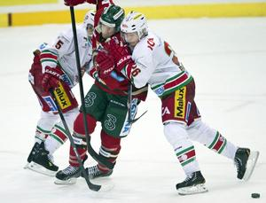 I första perioden var Modo under isen, men undan för undan gjorde Samuel Påhlsson och lagkamraterna det svårare för Frölunda.
