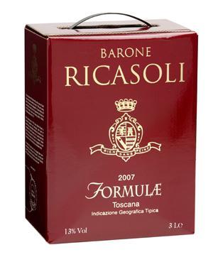 Norditalienska Barone Ricasoli Formulae knep boxarnas förstaplacering.