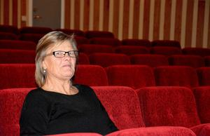 Förståndare Ingrid Hammarberg gläds åt att Forum Folkets hus i Ljungaverk mycket snart kommer att tillhöra digitalbio-sfären.
