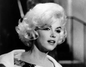 Marilyn Monroe i den sista film hon medverkade i,