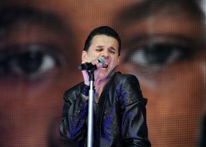 Dave Gahan och Depeche Mode. Bandet är klart för Peace & Love i Borlänge i sommar.