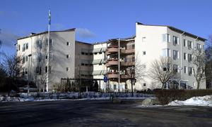 Kön till ålderdomshem är för närvarande lång i Västerås. Bilden: Björkbacken.