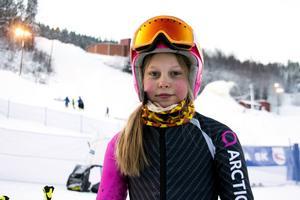 Alice Johansson, Nolby Alpina, var nöjd med säsongsdebuten.