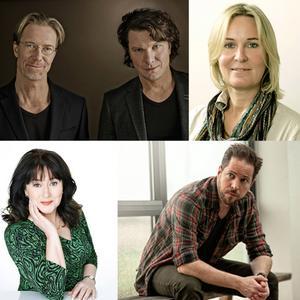 Roslund & Thunberg, Carin Gerhardsen, Anna Jansson och Thomas Engström - alla kommer de till författarkvällen den 8 november.