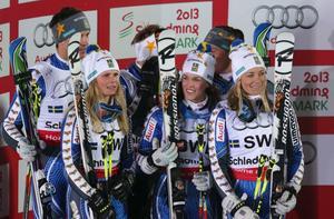 Sveriges silverlag i VM.