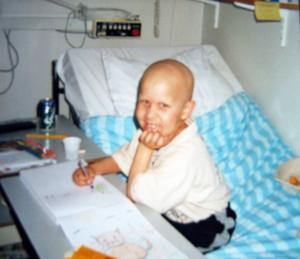 Thomas tillbringade större delen av sitt korta liv på sjukhus.