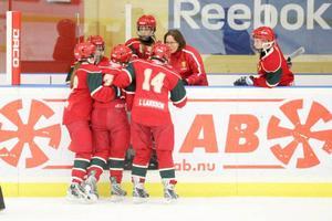 Leksands tränare Kalle Juvas tyckte att Sveg kämpade på bra.