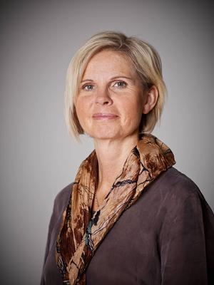 Katarina Bufvers, fastighetsmäklare på Mäklarhuset.   Det råder högt tryck på bostadsmarknaden i Sundsvall. Efterfrågan är stor men utbudet desto mindre.
