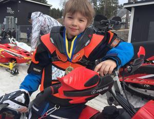 Elias Nilsson, 8 år, tillhörde de yngsta deltagarna i årets Clash of Nations.